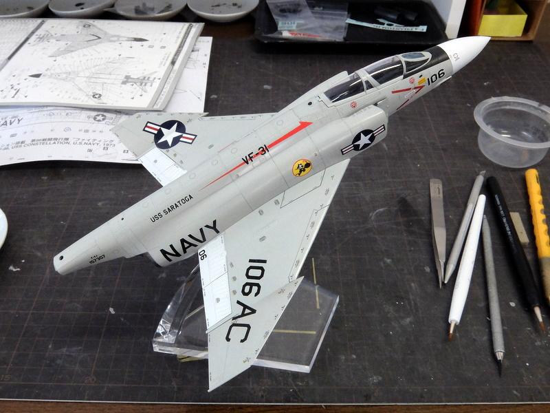 F-4Jファントム再開-13(翼を授ける編)