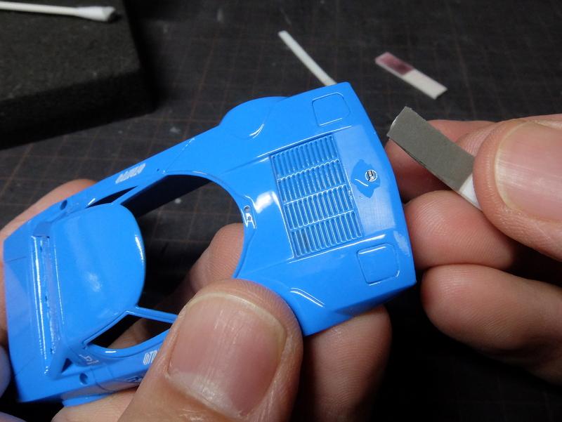 hpiストラトスで初期型ロードバージョンを作る-2