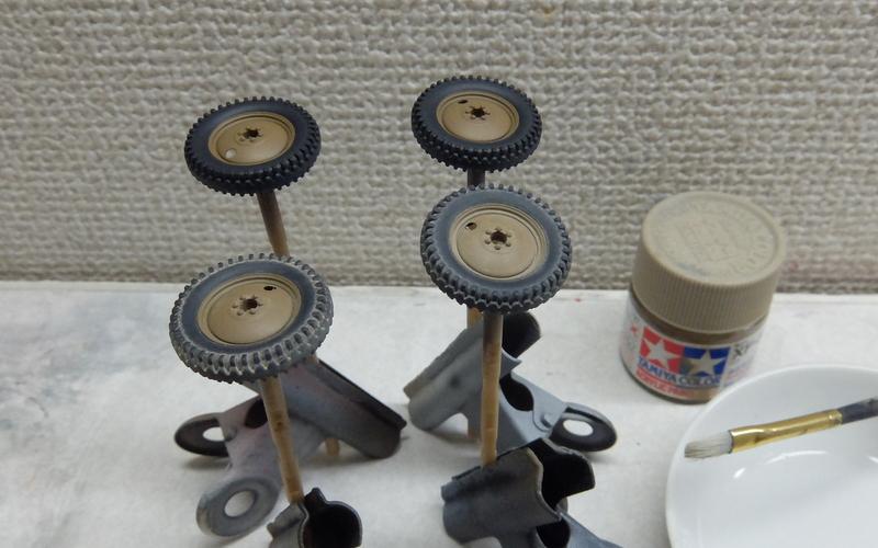 ファインモールドのくろがね四起製作記-15