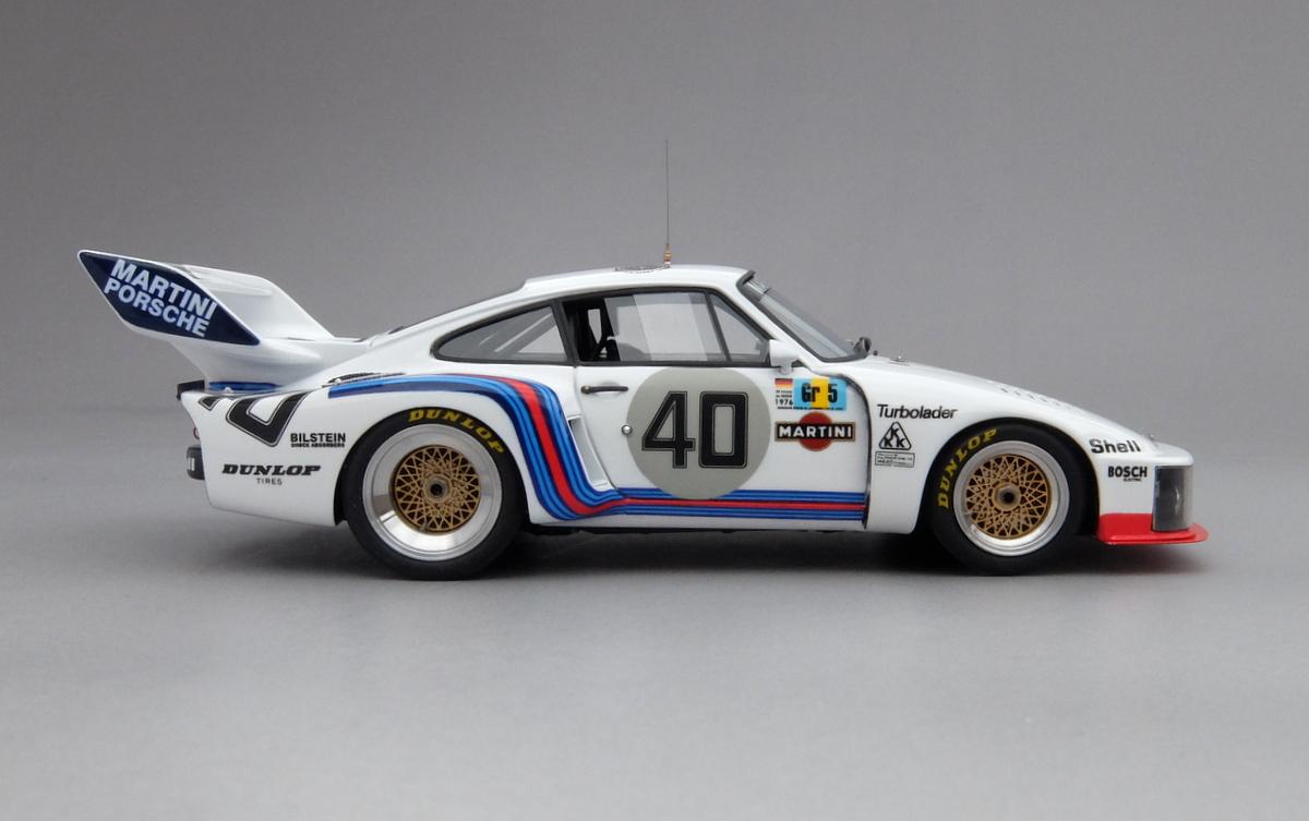 PORSCHE 935 TURBO, Le Mans '76