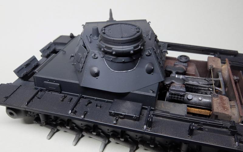 ドラゴンのIII号E型(スマートキット)製作記-37